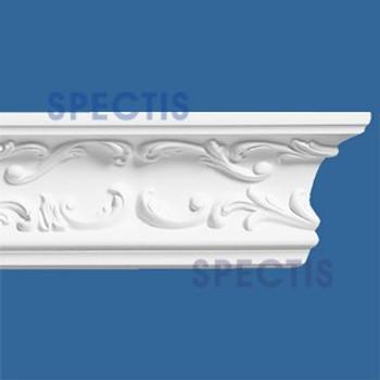 """MD1024 Spectis Decorative Crown Molding 2 1/4""""P x 4 5/8""""H x 140""""L"""