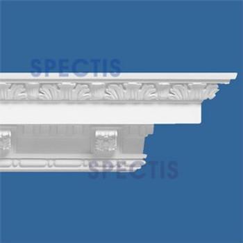 """MD1029 Spectis Decorative Crown Molding 6 3/4""""P x 6 1/4""""H x 139""""L"""