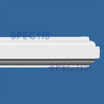 "MD1121 SPLIT Spectis Molding Rail Trim 5/8""P x 5/8""H x 96""L"
