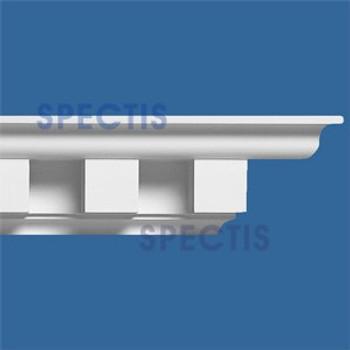 """MD1141 Spectis Crown Molding Dentil Trim 5""""P x 5 1/2""""H x 144""""L"""