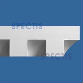 """MD1189 Spectis Molding Dentil Trim 3 3/4""""P x 6 1/2""""H x 142""""L"""