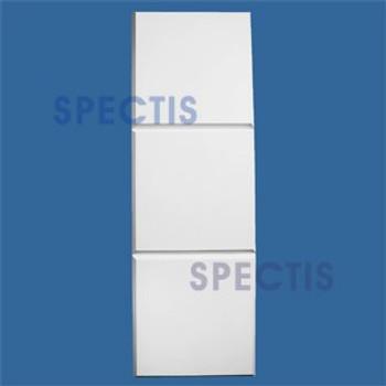 """MD1222 Spectis Quoin Molding Trim 1 1/2""""P x 16""""H x 96""""L"""
