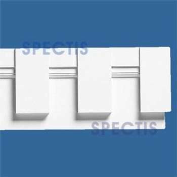 """MD1243 Spectis Molding Dentil Trim 1 3/16""""P x 7""""H x 144""""L"""
