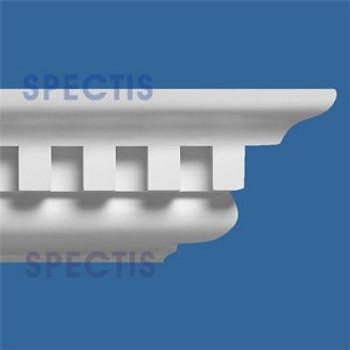 """MD1246 Spectis Crown Molding Dentil 9 1/2""""P x 11 1/4""""H x 144""""L"""