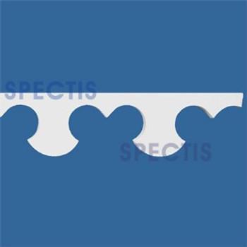 """MD1292 Spectis Molding Decorative 1 1/4""""P x 5 5/8""""H x 96""""L"""