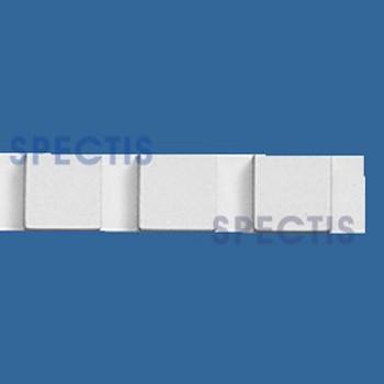 """MD1294 Spectis Molding Dentil Trim 1""""P x 1""""H x 7' 11""""L"""