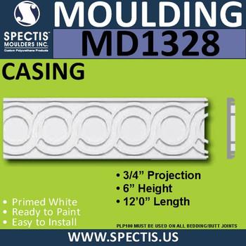 "MD1328 Spectis Molding Jamb Stock Trim 3/4""P x 6""H x 144""L"
