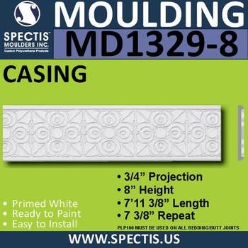 "MD1329-8 Spectis Molding Jamb Stock Trim 3/4""P x 8""H x 94""L"