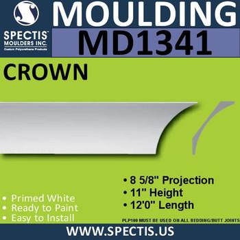 """MD1341 Spectis Crown Molding Trim 8 5/8""""P x 11""""H x 144""""L"""