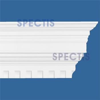 """MD1412B Spectis Crown Molding Dentil 7""""P x 14 3/8""""H x 144""""L"""