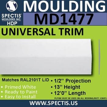 "MD1477 Spectis Plant On Trim 1/2""P x 13""H x 144""L"