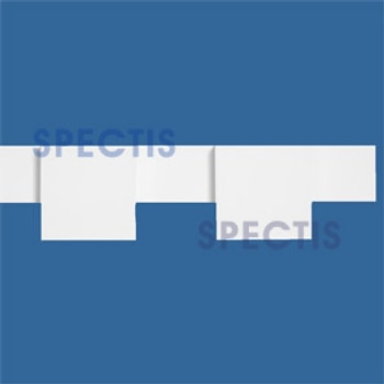 """MD1497 Spectis Molding Dentil Trim 1 1/4""""P x 4 1/2""""H x 96""""L"""