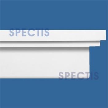 """MD1499 Spectis Molding Base Cap Trim 4 1/2""""P x 12""""H x 144""""L"""