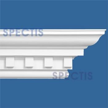 """MD1517 Spectis Crown Molding Dentil Trim 16""""P x 18""""H x 139""""L"""