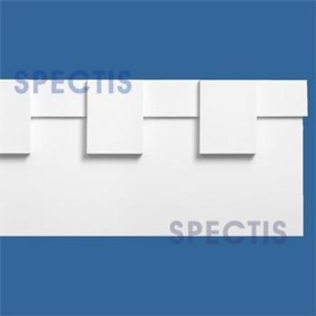 """MD1543 Spectis Molding Dentil Trim 1 1/4""""P x 8 1/2""""H x 144""""L"""
