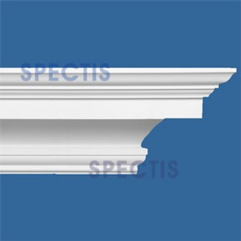 """MD1557 Spectis Crown Molding Trim 7 1/8""""P x 8 1/2""""H x 144""""L"""