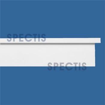 """MD1648 Spectis Molding Cap Trim 2 7/8""""P x 2""""H x 144""""L"""