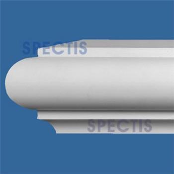 """MD1674 Spectis Molding Base Cap 5 9/16""""P x 5 3/8""""H x 144""""L"""