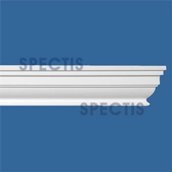 """MD1699 Spectis Molding Cap Trim 4""""P x 3 3/8""""H x 144""""L"""