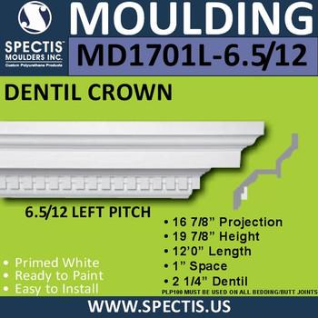 "MD1701L-6.5/12 Pitch Spectis Crown 16.87""P x 19.87""H x 144""L"