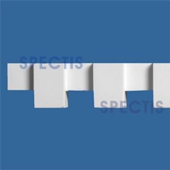 """MD1716 Spectis Molding Dentil Trim 1 3/8""""P x 1 3/4""""H x 144""""L"""