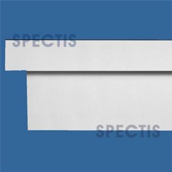 """MD1731 Spectis Molding Cap Trim 4""""P x 12""""H x 144""""L"""