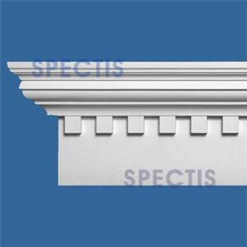 """MD1762 Spectis Crown Molding Cap Trim 3 3/4""""P x 8 1/4""""H x 144.5""""L"""