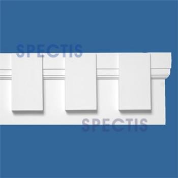 """MD1782 Spectis Molding Dentil Trim 1""""P x 4 1/2""""H x 144""""L"""