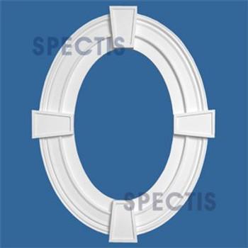 """OTK3801-3656 Oval Trim 36""""W X 56 1/2""""H Inside with 3.5"""" Casing"""