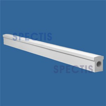 """RAL2125T 3"""" Wide Top Hand Rail in 8' 10' or 12' Lengths"""