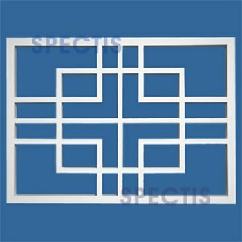 "RP3911 Decorative Grill Panel 2""P X 32""H X 44""W"