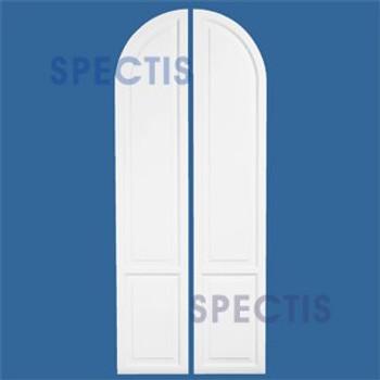SHA1890R Arch Top Polyurethane Shutter 18 x 90 RIGHT