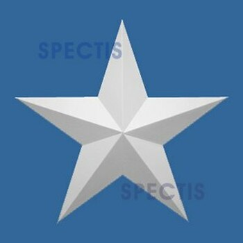 "ST12 Spectis Urethane Decorative Star 12""D X 7/8""P"