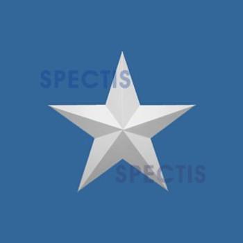 """ST6 Spectis Decorative Urethane Star 5 11/16"""" Diameter X 3/4""""P"""