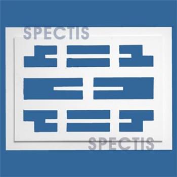 "VG109 Decorative Urethane Grill Vent 1 3/4""PX22 3/4""HX30 3/4""W"