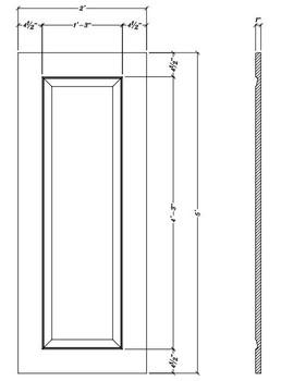 "WP6024 Decorative Panel 60"" x 24"""
