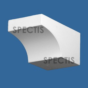 """BL2971 Spectis Eave Block or Bracket 4""""W x 3.5""""H x 7"""" Projection"""
