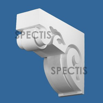 """BL2982 Spectis Eave Block or Bracket 5""""W x 11.25""""H x 13.19"""" Projection"""