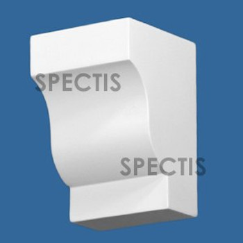 "BL2986 Spectis Eave Block or Bracket 3.5""W x 5.25""H x 3.56"" Projection"