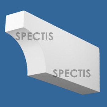 """BL2992 Spectis Eave Block or Bracket 3.25""""W x 7.25""""H x 18"""" Projection"""