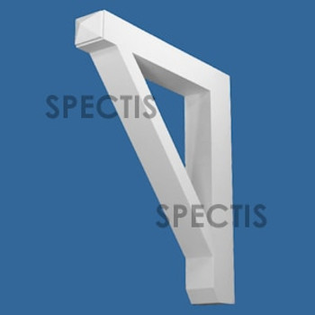 """BL3064 Spectis Eave Block or Bracket 3""""W x 20""""H x 22"""" Projection"""