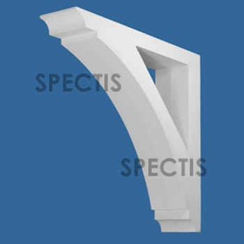 """BL3071 Spectis Eave Block or Bracket 6""""W x 28.5""""H x 26.5"""" Projection"""