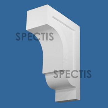 """BL3079 Spectis Eave Block or Bracket 6""""W x 19.38""""H x 14"""" Projection"""