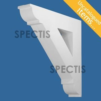 "BL3013 Spectis Eave Block or Bracket 4.5""W x 23.88""H x 23.88"" Projection"