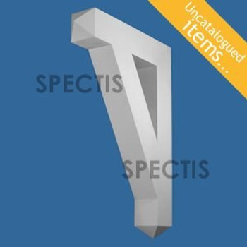 """BL3026 Spectis Eave Block or Bracket 24""""W x 14""""H x 24"""" Projection"""
