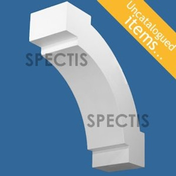 """BL3030 Spectis Eave Block or Bracket 5""""W x 14.5""""H x 14.5"""" Projection"""