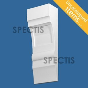 """BL3039 Spectis Eave Block or Bracket 5""""W x 14""""H x 3"""" Projection"""