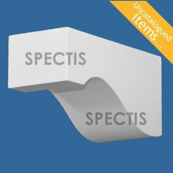 """BL3043 Spectis Eave Block or Bracket 2.81""""W x 3.25""""H x 6.56"""" Projection"""