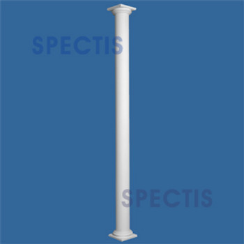 "CLM300-14-12 Smooth Straight Column 14"" x 144"""