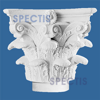 "CAP500-14 Corinthian Cap 22""W x 16""H for 14"" top column"